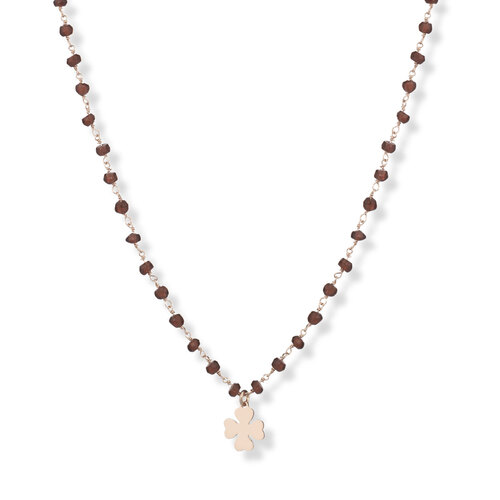 Gemstone Necklace 70 cm