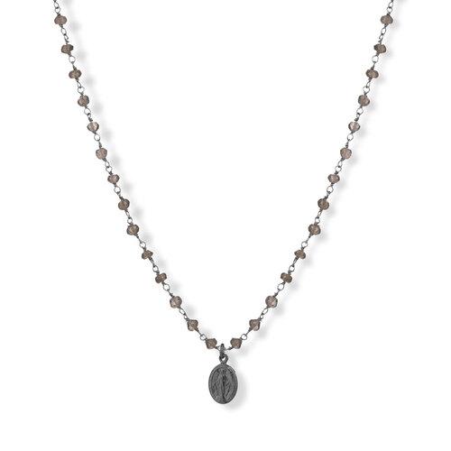 Gemstone Necklace 90 cm