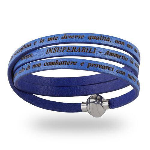Insuperabili Bracelet Blue