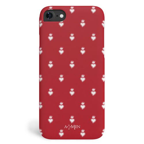 iPhone 7/8 Hardcase Sacred Heart Red