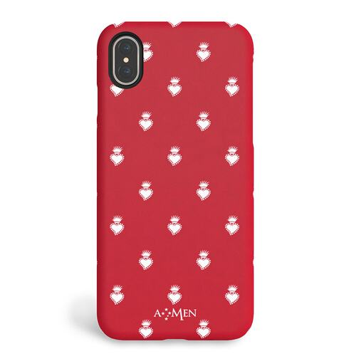 iPhone X/XS Hardcase Sacred Heart Red