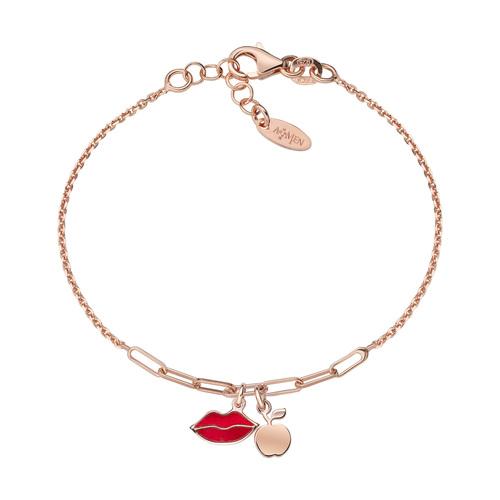 Kiss and Apple Rosé Bracelet