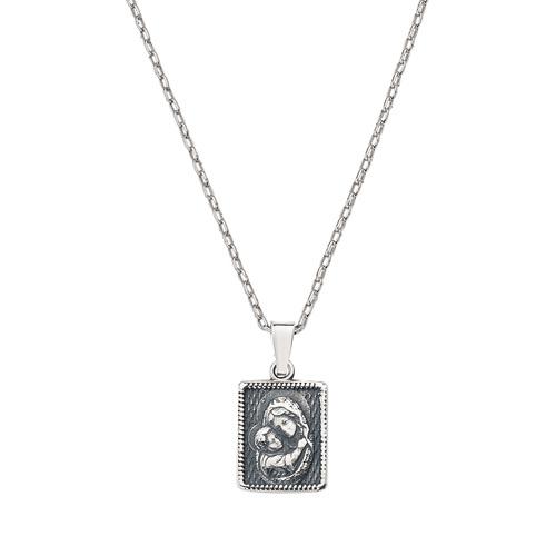 Madonna Medal Necklace