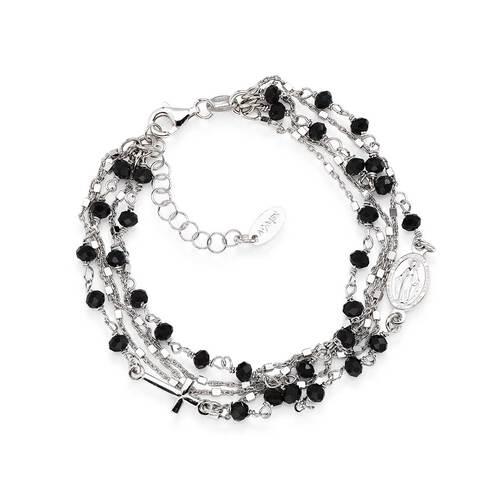 Multi Strand Bracelet Crystals