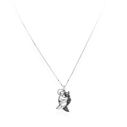 Necklace Angel and Devil N&N