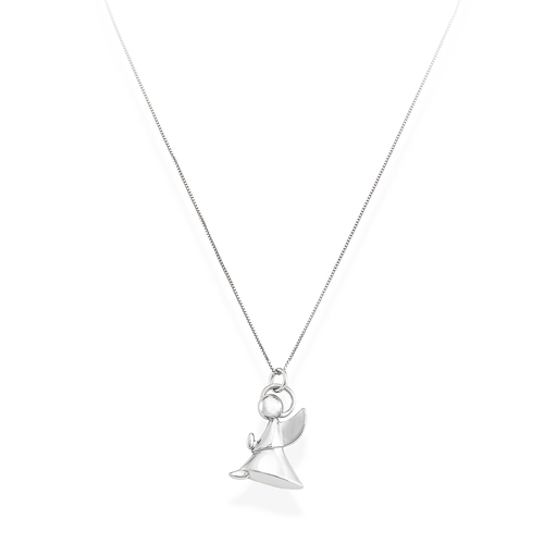 Necklace Angel Profile Silver N&N