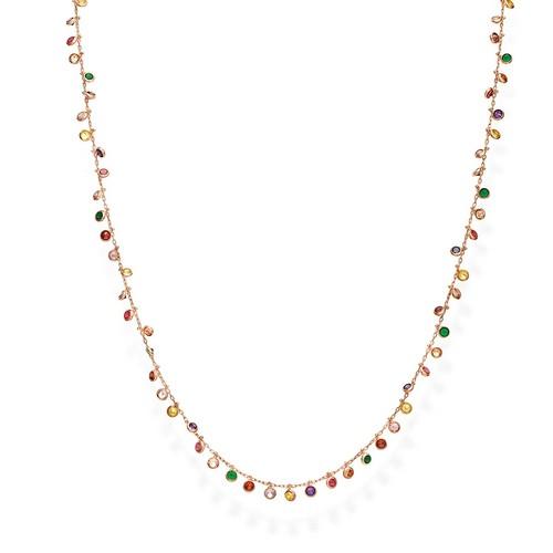 Necklace Chandelier 60 cm Multicolor