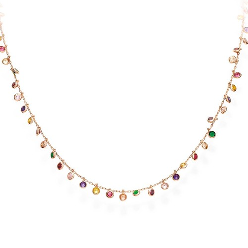 Necklace Chandelier Multicolor