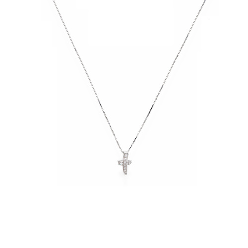 Necklace Cross Cubic Zirconia