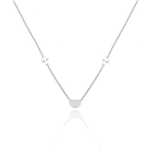 Necklace Crosses e Heart