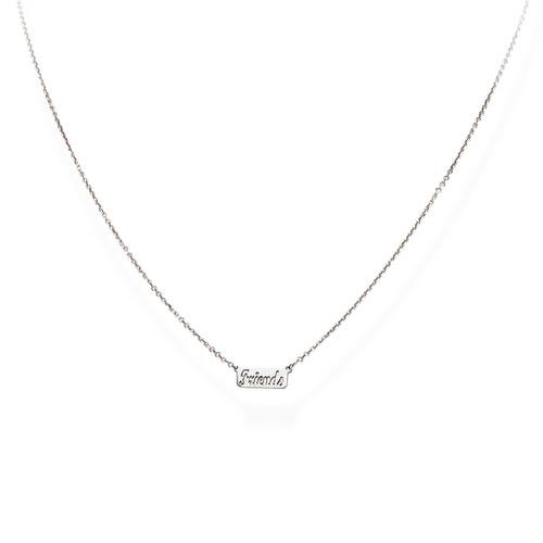 Necklace Friends Rhodium