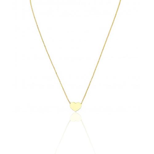 Necklace heart Golden