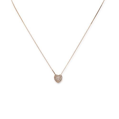 Necklace Hearth Cubic Zirconia