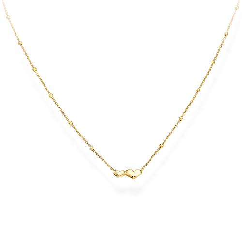 Necklace Little Hearts Golden