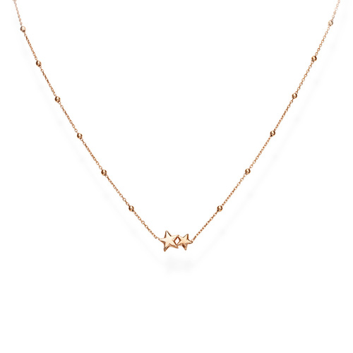 Necklace Little Stars Rosè