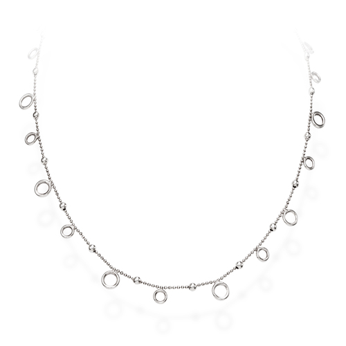 Necklace Orbits Rhodium