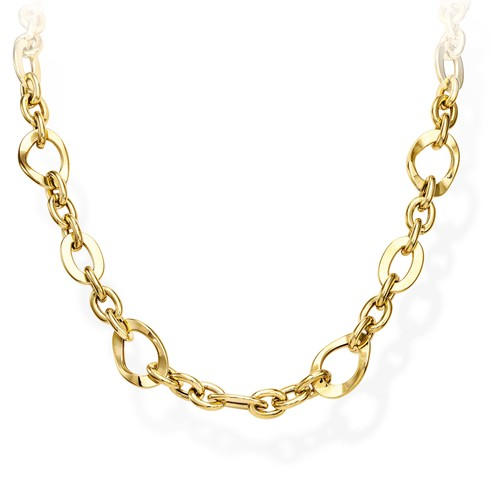 Necklace Rolo Chain Various Golden