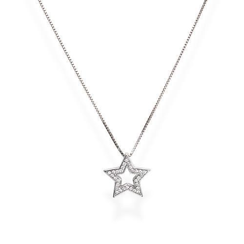 Necklace Star Zircons