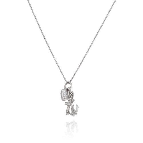 Necklace Zircons