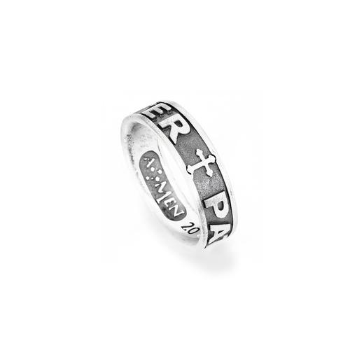 Pater Noster Ring AG925