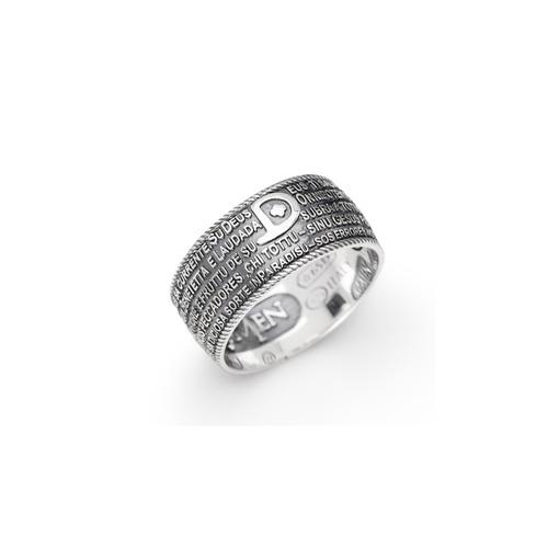 Ring AG925 burnished