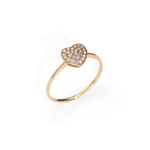 Ring Hearth Cubic Zirconia