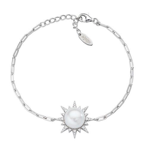River Pearl Sun Bracelet