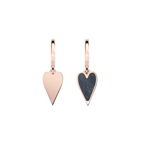 Rosè Hearts Earrings