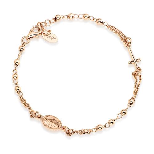 Rosary bracelet AG925
