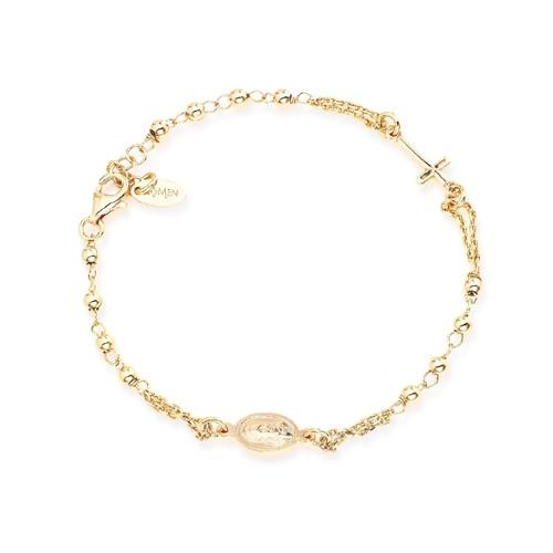 Rosary Bracelet Golden