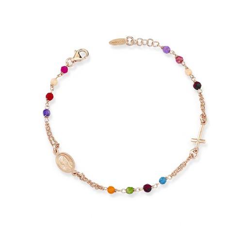 Rosary Bracelet Multicolor
