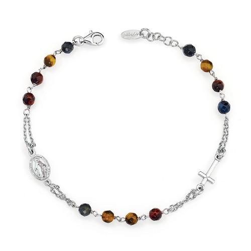 Rosary Bracelet Tiger Eye