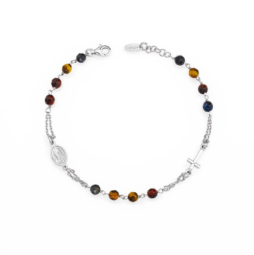 Rosary Bracelet Tiger Eye