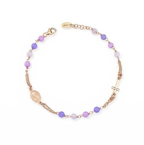 Rosary Multicolor Bracelet