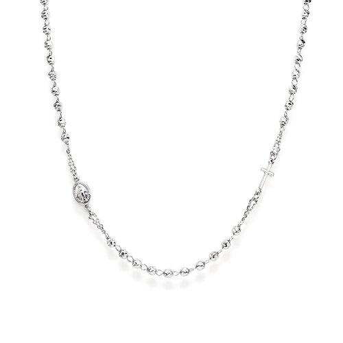 Rosary Neckace rhodium