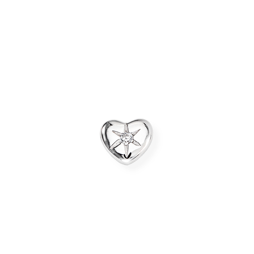Single Earring Heart