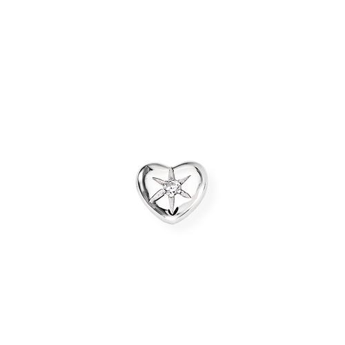 Single Earring Heart