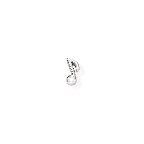Single Earring Musical Note