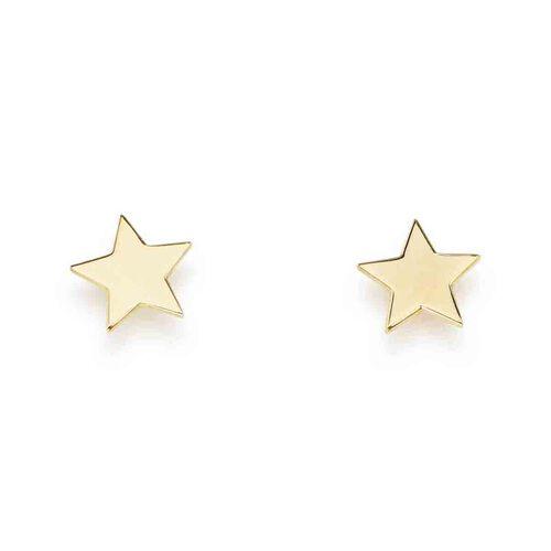 Star Sterling Silver Earrings