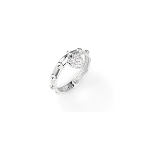 Sterling Silver Ring Rhodium