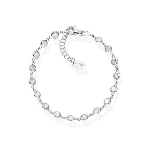White Drops Zirconia Bracelet